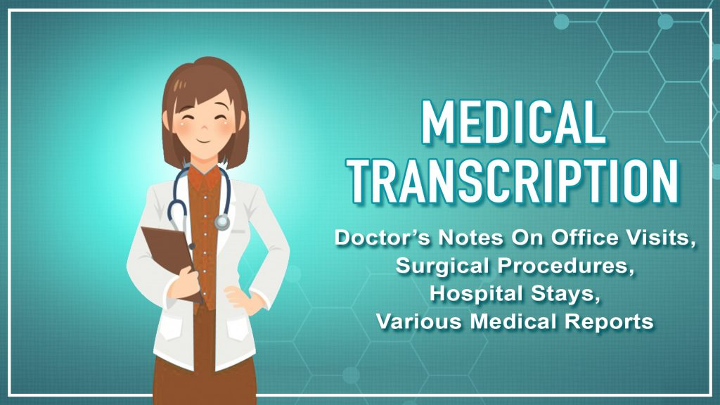 Medical transcription service in US
