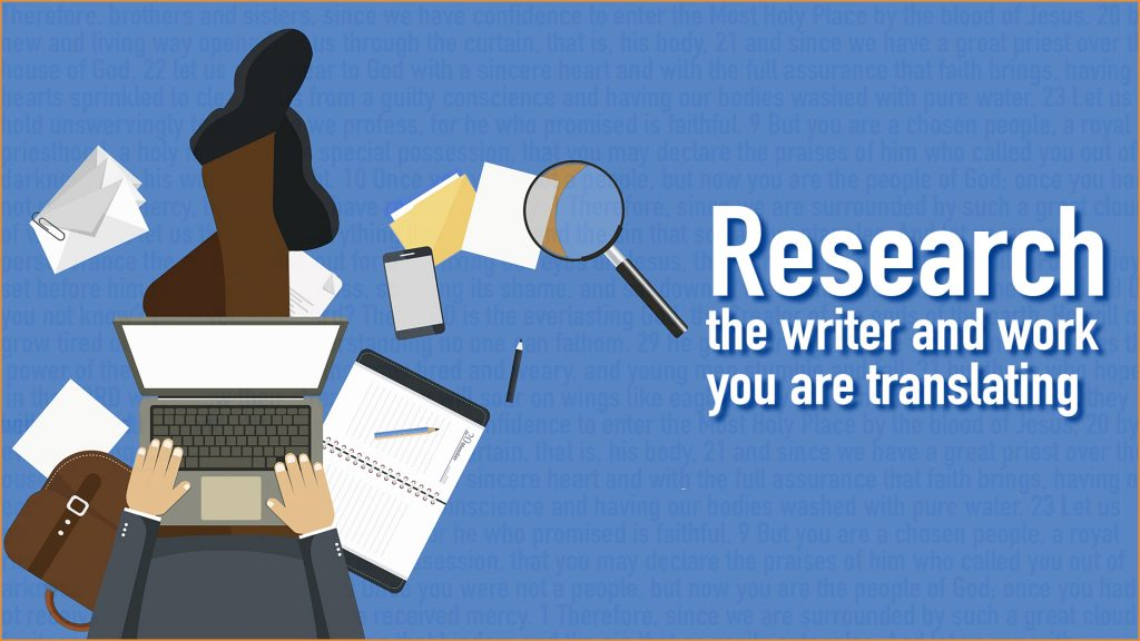 Research translation service